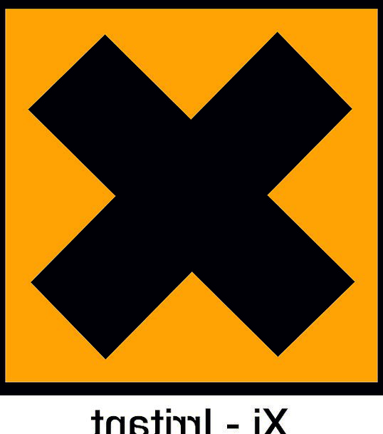 Irritant Nuisance Damaging Symbol Harmful Precauti