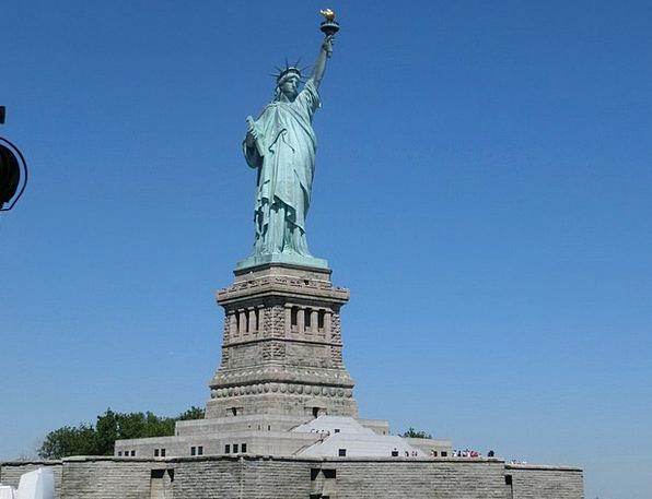 Statue Of Liberty New York Usa Freedom Liberty Lad