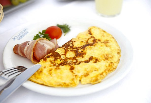 Breakfast Mealtime Plate Knife Blade Dish Fork Div