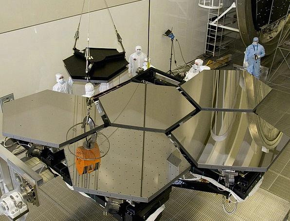 Telescope Contract Mirror Glass Space Telescope Co