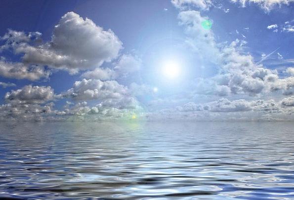 Clouds Vapors Understand Sea Marine See Sky Water