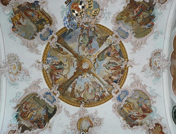 Fresco Mural Church Ecclesiastical Cover Painting