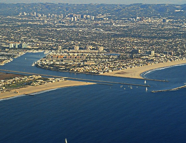 Los Angeles Buildings Architecture Aerial View Aer