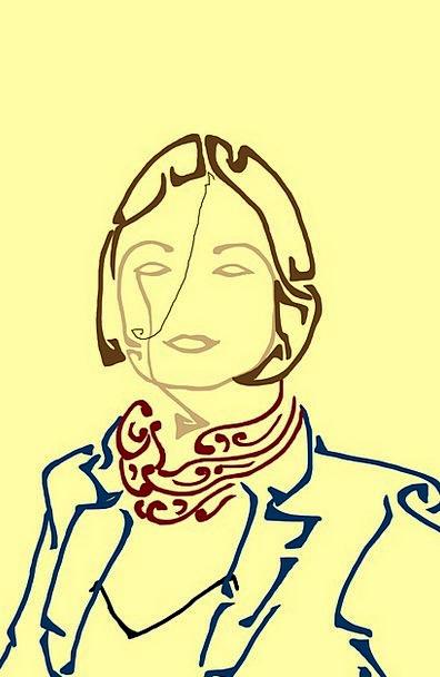 Woman Lady Fashion Expression Beauty Portrait Repr