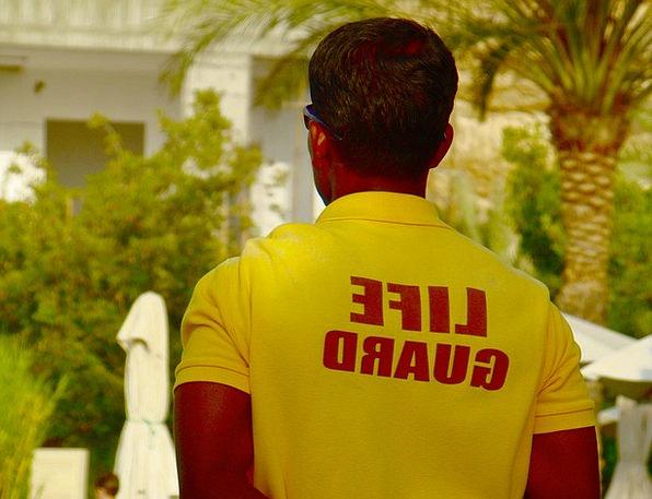 Lifeguard Lifesaver Manager Man Gentleman Supervis