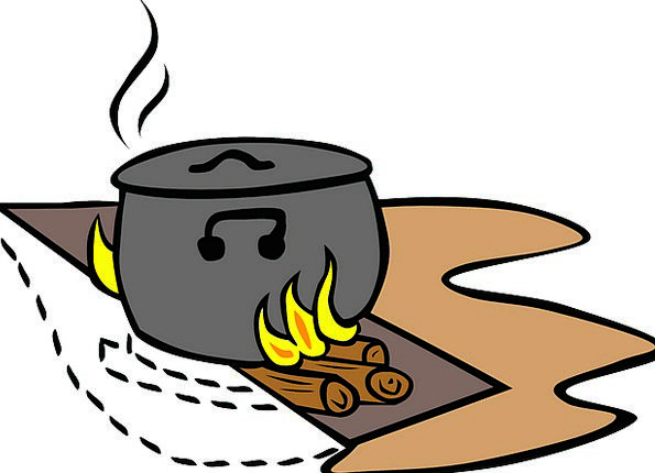 Campfire Campfires Cookout Fire Passion Cooking Ou