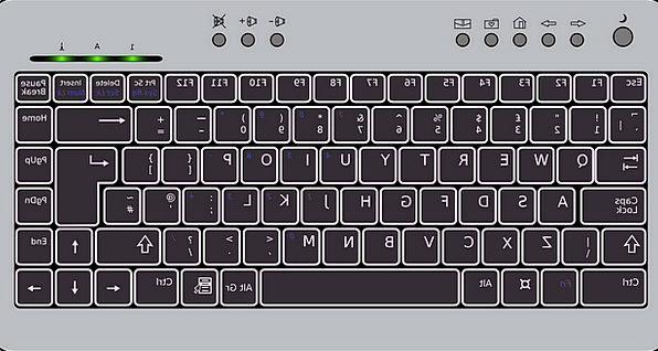 Keyboard Console Dark Compact Dense Black Strike H