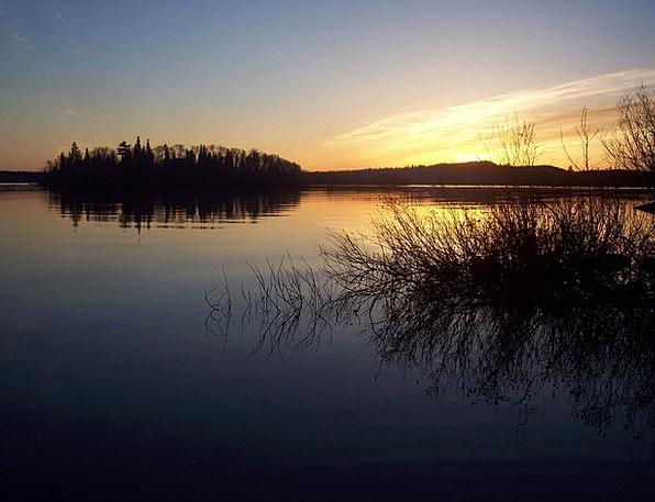 Lake Freshwater Vacation Sundown Travel Summer Str