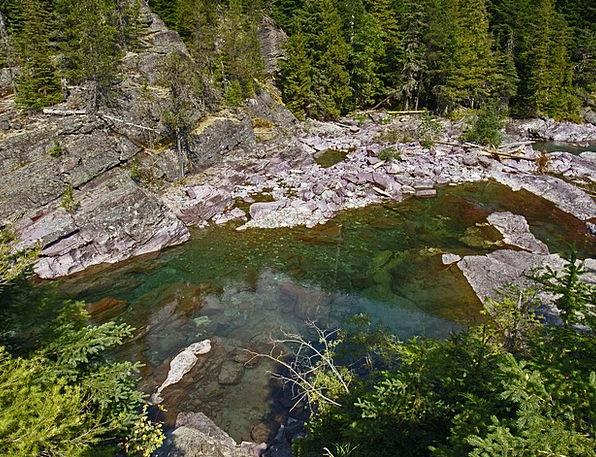 Rocky Stony Landscapes Nature Crystal Mineral Rive