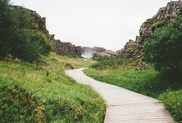 Iceland Landscapes Nature Nature Countryside Tecto