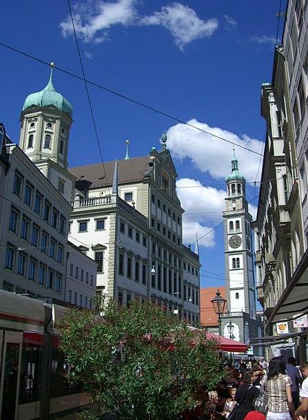 Perlachturm Town Hall Tower Town Hall Augsburg