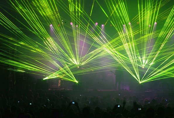 Laser Light Performance Music Melody Concert Beams