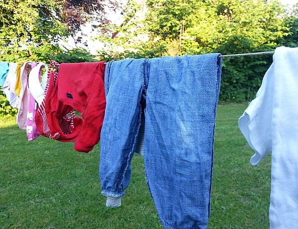 Clothes Line Washing Wash Shower Laundry Depend Be