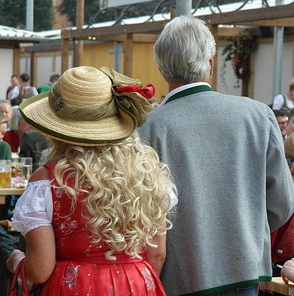 Costume Clothing Bavarian Bavaria Tender Pair Coup