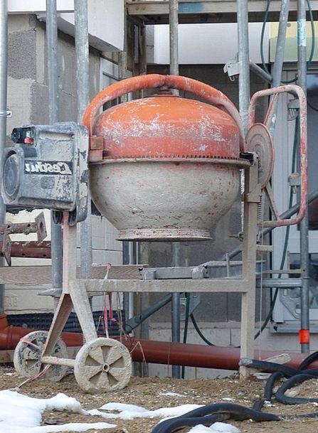 Drum Mixer Concrete Real Concrete Mixer Small Cons