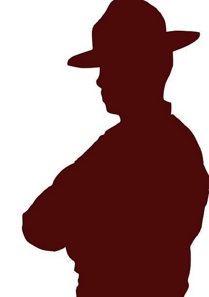 Man Gentleman Unreliable Hat Cap Cowboy Handsome W