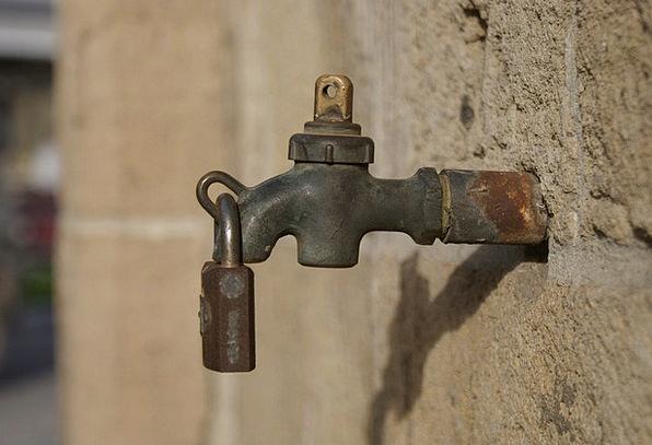 Tap Blow Lack Fountain Cascade Drought