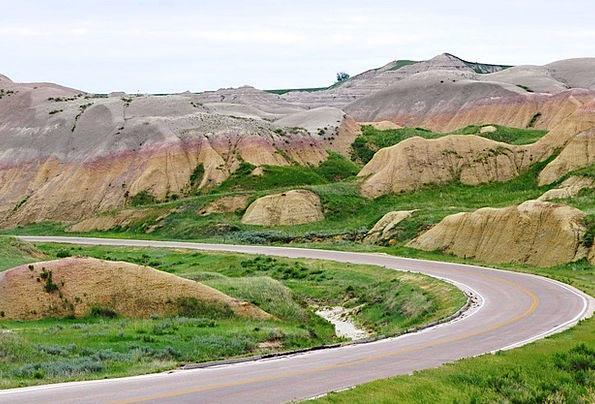 Badlands Wildernesses Traffic Thoroughfare Transpo
