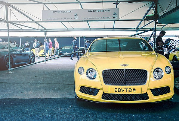 Bentley Traffic Transportation Sports Car Racing C