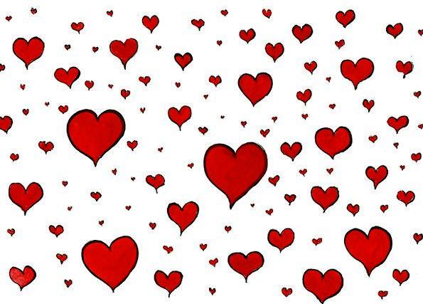 Love Darling Sensation Heart Emotion Feeling Red B