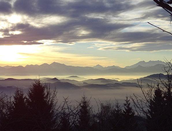 Winter Season Landscapes Vapors Nature Landscape S