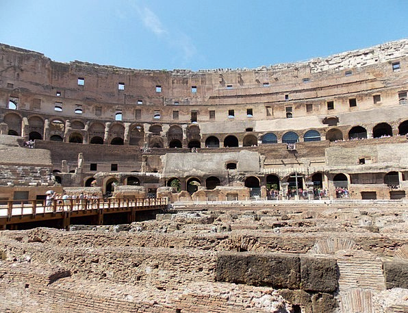 Colosseum Buildings Architecture Italy Rome Archit