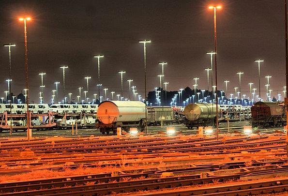 Goods Station Traffic Net Transportation Railway M