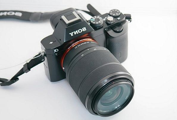 Camera Sony Alpha 7 Photo Camera Lens Sony Digital