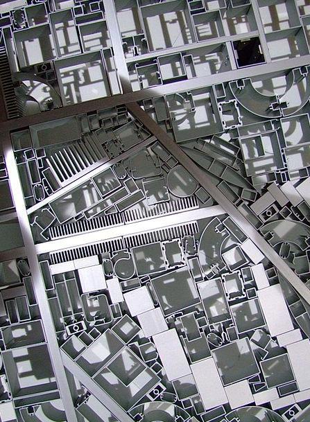 Floorplan Traffic Metallic Transportation Roads In