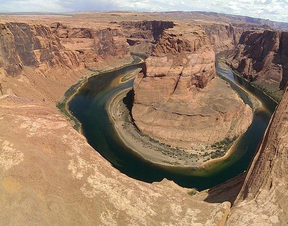 Horseshoe Bend Landscapes Nature Desert Reward Ari