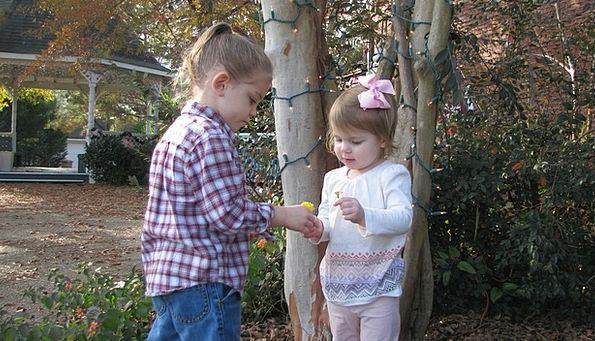 Girls Lassies Broods Kids Children Daughter Female