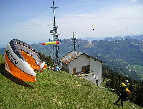 Paragliding Breeze Wind Sock Wind Start Twitch All