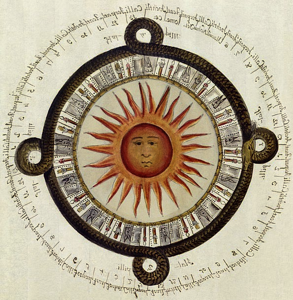 Aztecs Sundial Mexican Calendar Sun 1790 High Cult