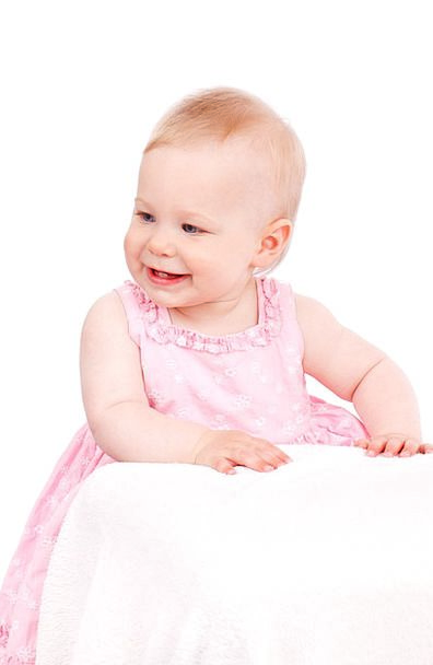 Baby Darling Child Youngster Caucasian Isolated Cu