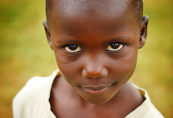 Child Youngster Eyes Judgments Uganda Girl Lassie