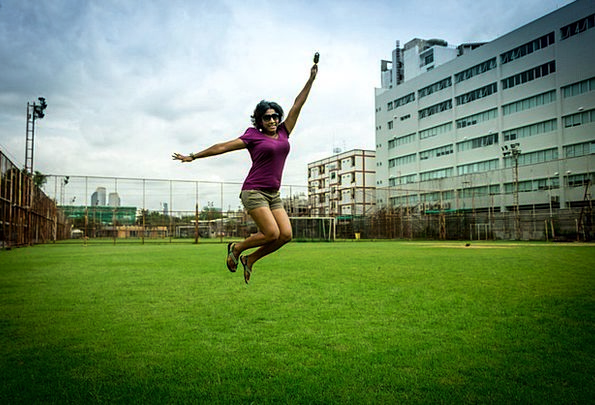 Jump Hurdle Fashion Content Beauty Expression Look