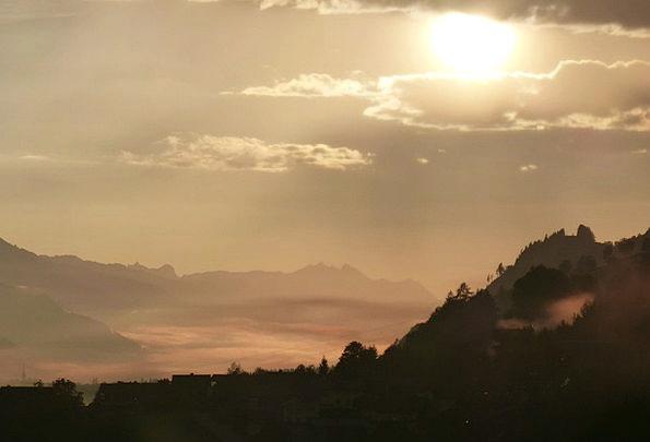 Morgenstimmung Landscapes Vapors Nature Back Light