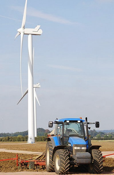 Wind Turbine Energy Vigor Power Generation Efficie