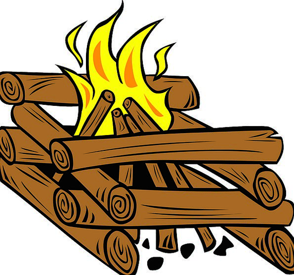 Campfire Vacation Timber Travel Fire Passion Wood