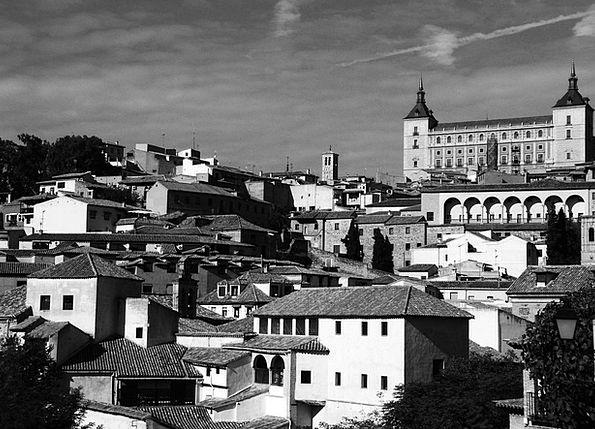 Toledo Buildings Urban Architecture Jewish Quarter