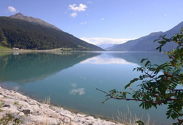 Val Venosta Lake Freshwater Lake Resia