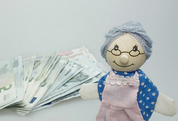 Doll Toy Finance Grandmother Business Children Toy