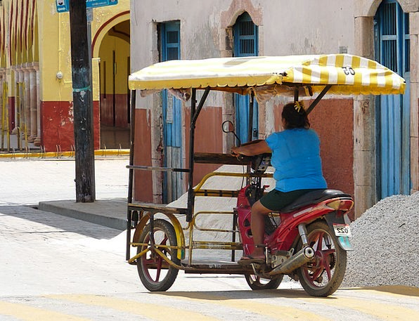Motorcycle Motorbike Delivery Mexican Shipping Mex