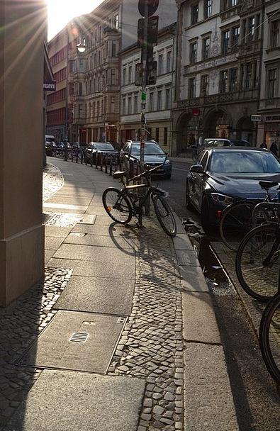 Road Street Traffic Urban Transportation Evening T