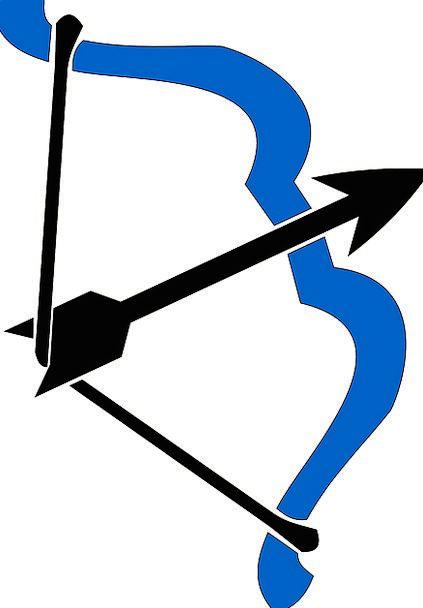 Bow Crossbow Missile Shaft Chute Arrow Blue Bolt B