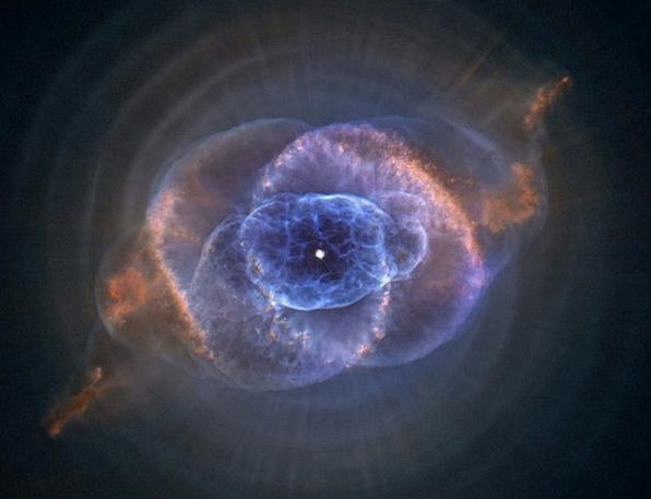 Cat'S Eye Nebula Planetary Fog Ngc 6543 Astronauti