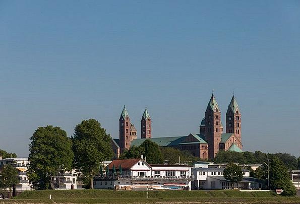 Dom Rhine Speyer Church Ecclesiastical Germany Hom