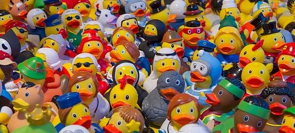 Toy Ducks Malleable Toys Dolls Plastic Ducks Dears