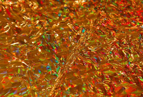 Wrapping Paper Excellent Sparkling Glittering Gold