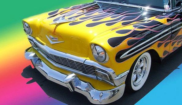Chevrolet Traffic Transportation 1956 Chevy 56 Fla